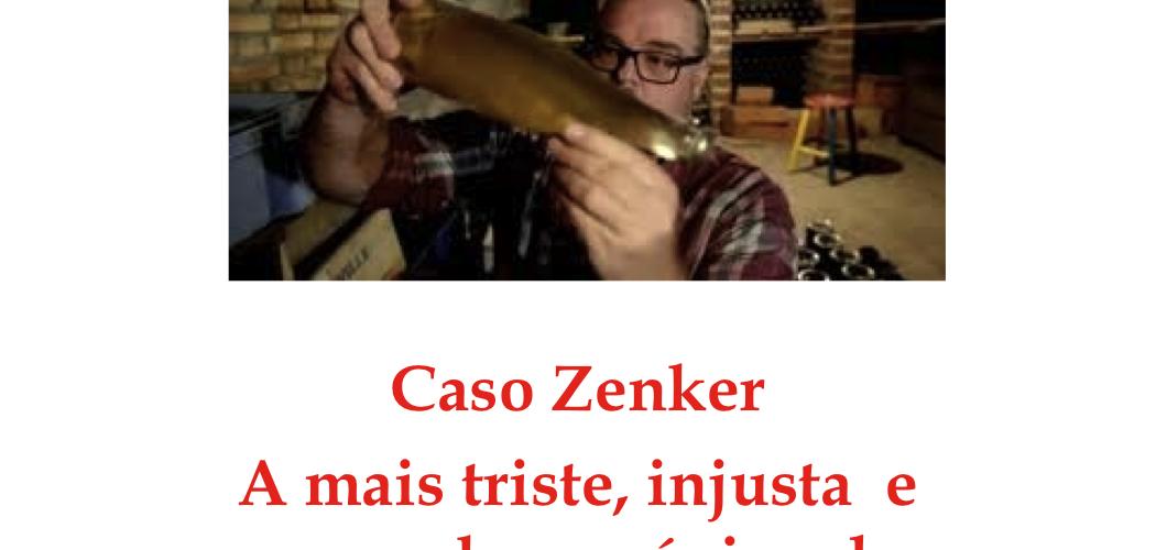 O caso Zenker ainda parado.
