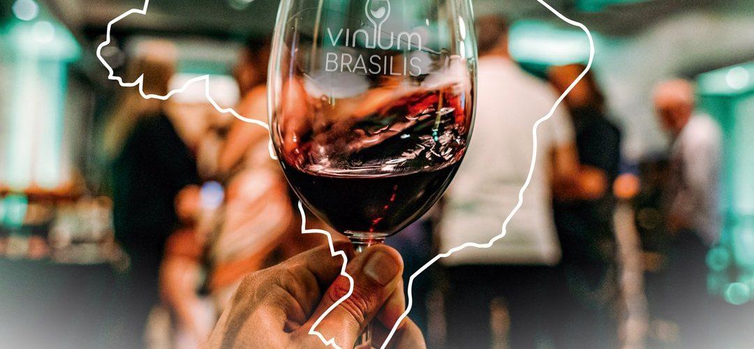 A Espetacular Vinum Brasilis dias 16 e 17 agora.
